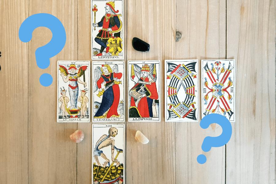 Tuto Tarot #8 : Tirer les cartes sans question